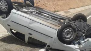 """وفاة مواطن وزوجته بتدهور مركبة على """"الصحراوي"""""""
