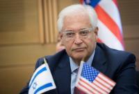 """فريدمان :""""اسرائيل"""" أجلت فرض السيادة ولم تلغها"""