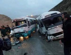 13 اصابة بحادث تصادم في الرصيفة