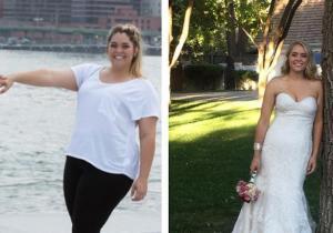 عروس تخسر 50 كيلو جراماً من وزنها بعد مشاهدة صور الخطوبة! (صور)