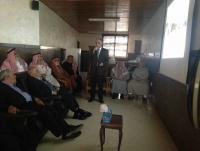 لقاء في مستشفى المقاصد للتعريف باهدافه الخيرية
