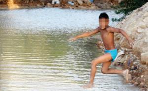 """قناة الملك عبدالله """"غول"""" يبتلع اطفال المنطقة تحت انظار المسؤولين!"""