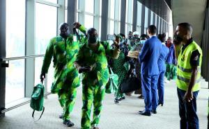 وصول أول فوج للحجاج المسيحيين من نيجيريا للأردن (صور)