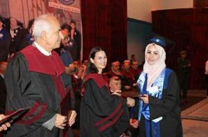 الأميرة صالحة بنت عاصم ترعى تخريج جامعة الإسراء للفصل الصيفي