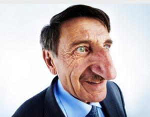 مسابقة أكبر أنف في العالم (صور)