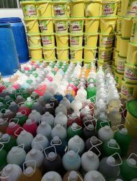 مداهمة مصنع ينتج مسحوق غسيل مقلد