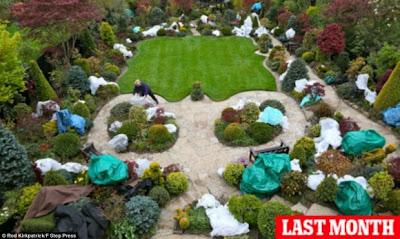 بالصور : حديقة الفصول الأربعة .. طبيعة ساحرة و إبداع بلا حدود  Image
