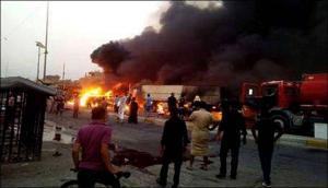 عشرات القتلى والجرحى بتفجير مفخخة في بغداد