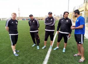 سبع مباريات ودية دولية للنشامى ..  وأبو زمع يؤكد: سنواصل العمل باخلاص