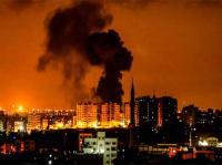 4 إصابات جراء غارات للاحتلال على أهداف في غزة