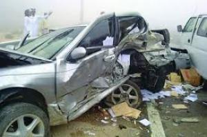 اربد ..  اصابة 13 شخصا بحادثي تصادم