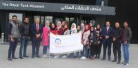 """طلبة""""عمان العربية"""" يزورون متحف الدبابات"""