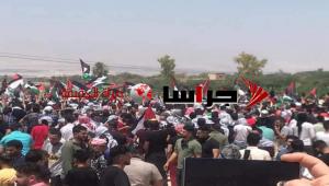 لليوم الثاني  ..  الأردنيون قرب الحدود الأردنية الفلسطينية (صور)