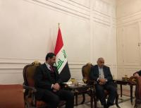 الحموري يلتقي رئيس الوزراء العراقي ورئيس مجلس النواب