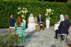 عقد قران الأميرة راية بنت الحسين