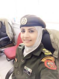 المقدم الصيدلانية مروه العموش  .. الف مبروك الترفيع