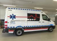 ولادة داخل سيارة إسعاف في الكرك