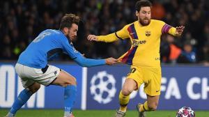 التشكيلة المتوقعة لمواجهة برشلونة ونابولي