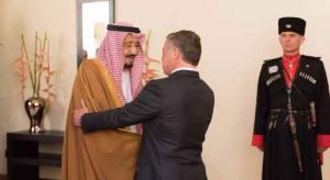 خادم الحرمين يشكر الملك والأردنيين