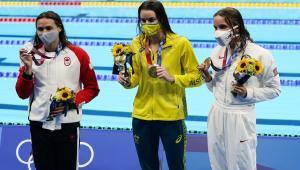 السباحة الأسترالية ماكيون تسجل رقما أولمبيا