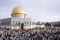 فتح المسجد الاقصى امام المصلين الأحد المقبل