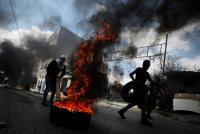 إصابات في مواجهات مع الإحتلال شمال سلفيت