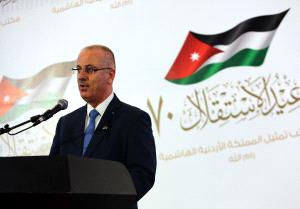 """رئيس الوزراء الفلسطيني:"""" نعوّل على الأردن"""""""