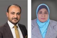 """جائزة الموظف المتميز في """"عمان العربية"""" لـ عصام فوده وانتصار الغراغير"""