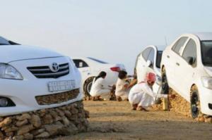 """ماذا تعرف عن """"تحجير السيارات"""" عند السعوديين؟ (فيديو)"""