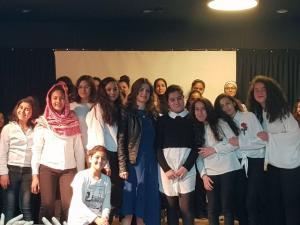 مدارس جامعة عمان الأهلية الاولى تحصد المركز الأول بمسابقة المسرح