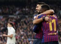 برشلونة يقسو على مدريد بثلاثية نظيفة