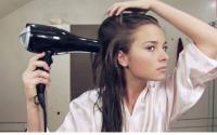 خطوات يجب القيام بها عند استخدام مجفف الشعر