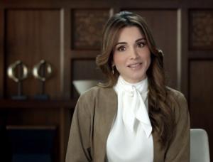 الملكة رانيا : للأردن سجل انساني لا مثيل له