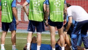 جمهور ريال مدريد قلق لاصابة رونالدو
