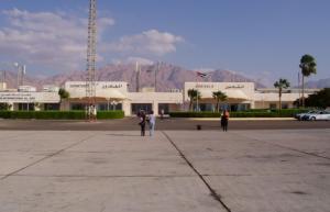 مطار الملك حسين يوضح حقيقة انزلاق طائرة بالمطار