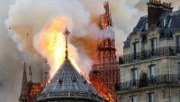 الشرطة الفرنسية: ماس كهربائي وراء حريق كاتدرئية نوتردام