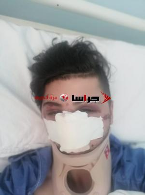 هكذا اعتدى رجال الأمن على الشاب حمدان والأمن يوضح (صور)
