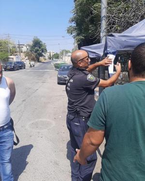 الإحتلال يخطر بهدم خيم الإعتصام في حي الشيخ جراح