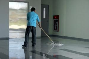 عامل نظافة