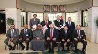 المستشار الثقافي الكويتي يزور جامعة الشرق الأوسط