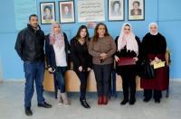 """وفد من """"عمان الأهلية"""" يزور دار الضيافة للمسنين"""