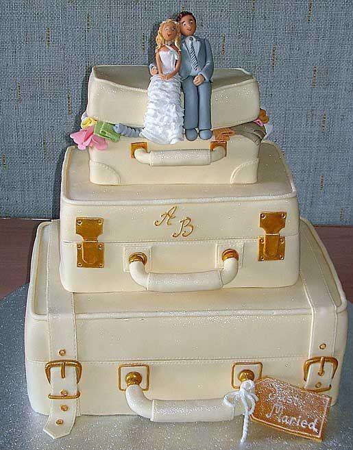 اغراب كعكات زواج للعروسين  Image