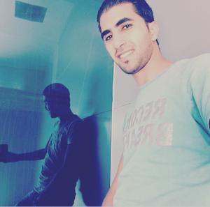 الزميلة فاطمة عفيشات تهنئ زوجها عبدالكريم الجمل بعيد ميلاده