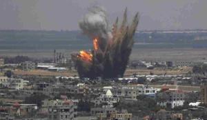 الرمثا تستقبل العيد بأصوات انفجارات سوريا