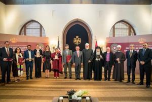الملك يرعى توزيع جوائز أسبوع الوئام العالمي بين الأديان (صور)