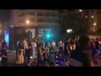 إطلاق نار خلال مظاهرة احتجاجية وسط بيروت (فيديو)