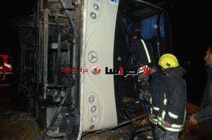 14 إصابة بحادثين على طريق عمان اربد (صور)