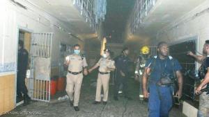 الكويت : ضبط اردني حاول استغلال حريق السجن المركزي لزيارة نزيل