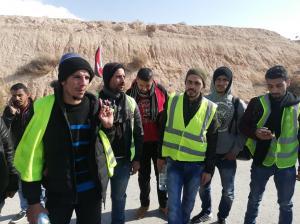 متعطلون عن العمل في الكرك ينطلقون بمسيرة نحو عمان