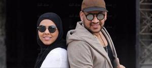 شاهد ..  ابنة عصام كاريكا ترتدى الحجاب